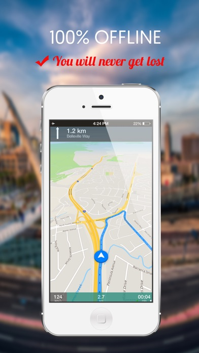 Screenshot of Qatar : Offline navigazione GPS1