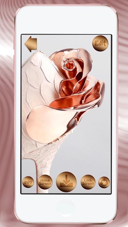 Rose Gold Wallpaper Hd Lock Screen Backgrounds By Milojkovic Marija