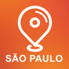 Sao Paulo, Brazil - Offline Car GPS App