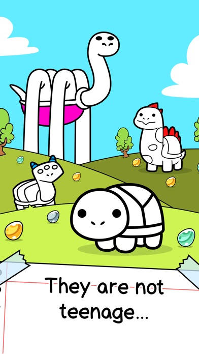 Screenshots of Turtle Evolution | Tortoise Clicker Game for iPhone