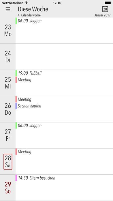 Screenshot von Cali - Die Kalender App1