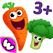 趣味食物2认知游戏 - 最佳婴幼儿蔬菜水果拼图早教应用教育
