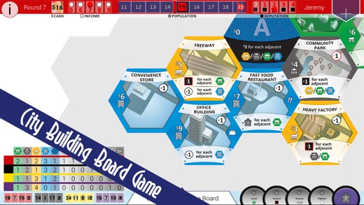 SUBURBIA City Building Board Game Screenshot
