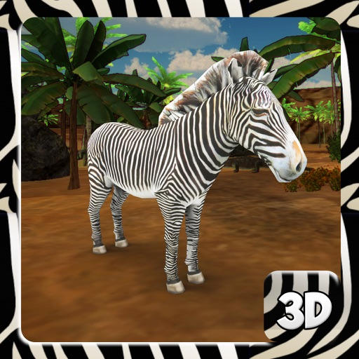 Zebra Simulator & Animal Wildlife Game by Atif Mahmood