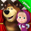 Masha and the Bear: videos, games, songs for kids
