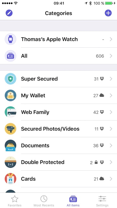Screenshot #6 for oneSafe 4 password manager