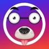 Funny Face for instagram Effects Sticker Draw Pics