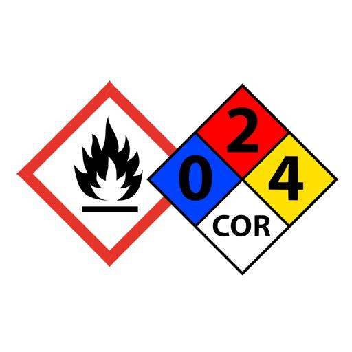 Hazardous Material Diamond: GHS & NFPA Hazard Symbols By Sorreno Digital Group Ltd