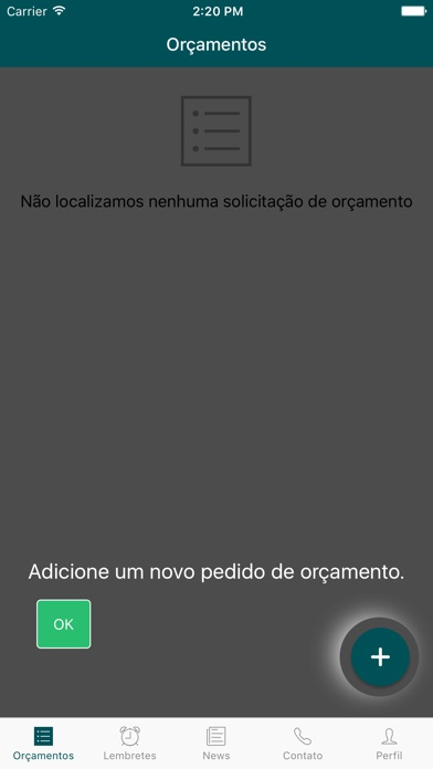Captura de ecrã do iPhone 1