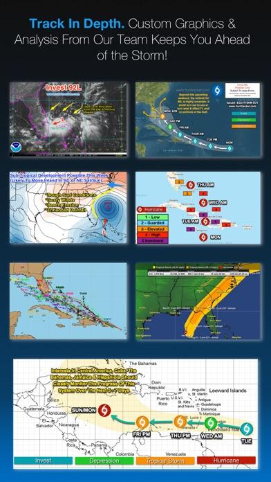 Hurricane Tracker Screenshots
