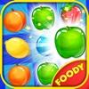 Foody Crush Mania - Fruits Land crush fruits super
