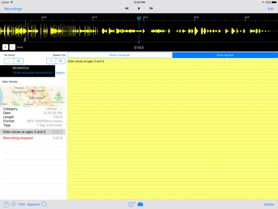 Smart Recorder Transcriber AF Screenshots