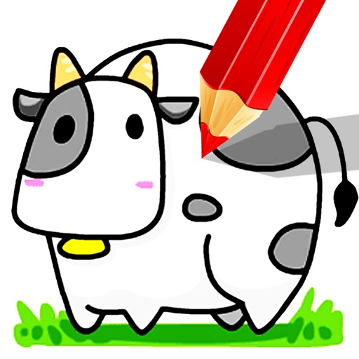 Little Cows Learning And Coloring Pages Games  ANAICOM