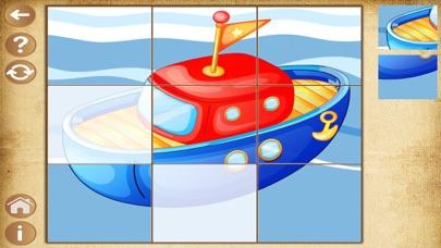 Скриншот Детские Пазлы игры для мальчиков , детей и малышей