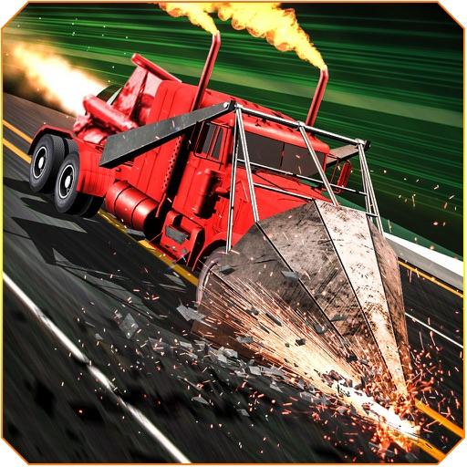 GT Ramp Truck – Highway Demolition Derby iOS App