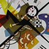 Wassily Kandinsky Artworks Stickers