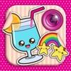 Kawaii Foto Editor: Süße Aufkleber Emoji einfügen