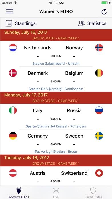 Women's Soccer (Premium) Скриншоты3