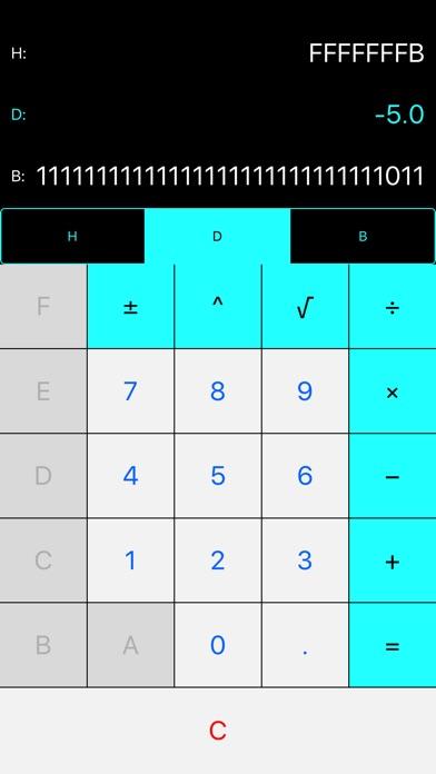 Mini: Hex-Decimal-Binary Calculator Converter