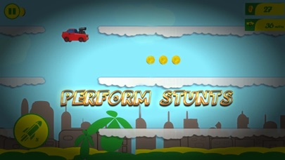 Smashy Jump Car Shooter Screenshot 1