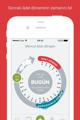 Clue - Period & Health Tracker screenshot 1