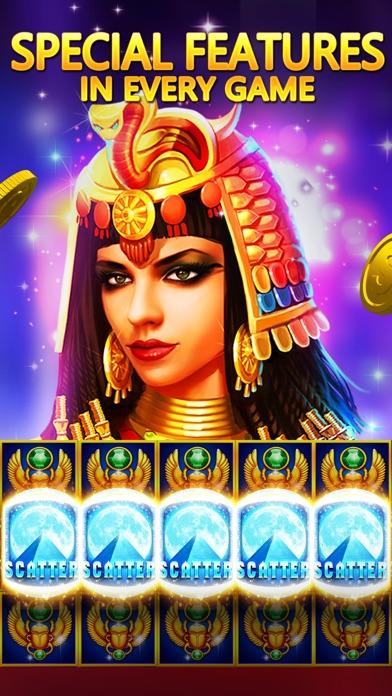 Screenshots of Pharaoh's Fortune - Real Vegas Casino Slot Machine for iPhone
