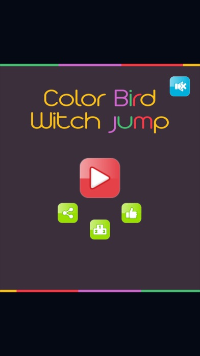 Color Bird-Jump In Bounce Color Circles Tunnel Screenshot