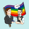 Between us – Gay Pride Stickers Wiki