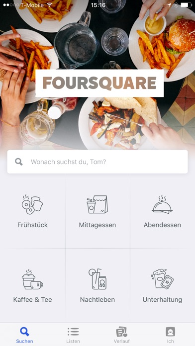 Foursquare Screenshot
