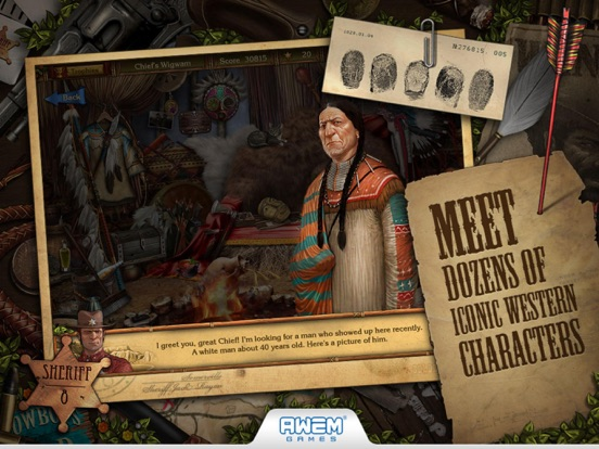 Screenshot #5 for Golden Trails: Hidden Object Adventure (Premium)