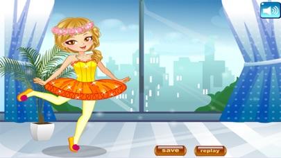 لعبة تلبيس راقصة الباليه الصغيرة و الجميلةلقطة شاشة5