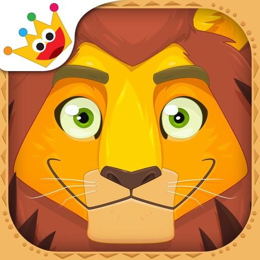 アフリカ - 絵合わせ、ステッカー、ぬりえ、音楽 - キッズと子供のためのゲーム