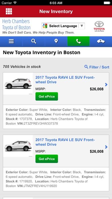 App Shopper Toyota Of Boston Business