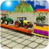 New Train Cargo Tractor : Extreme Cargo Train 3D