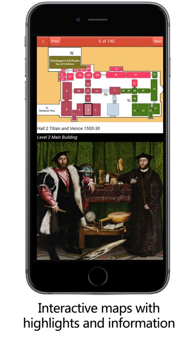 National Gallery London Guide Screenshot