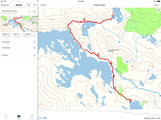 Gaia GPS Hike Hunt Offroad On The App Store - Us topo maps app wont download maps