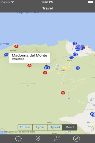ELBA ISLAND – GPS Travel Map Offline Navigator screenshot 3