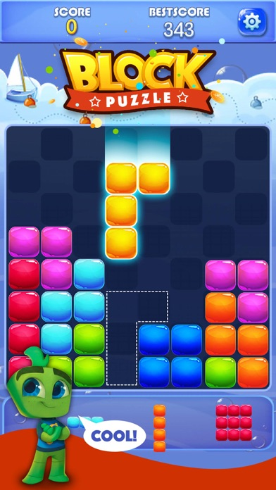 Candy Block Puzzle Blitzのスクリーンショット1