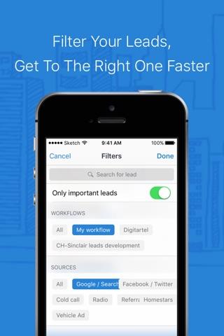 ClickHook Lead Management System screenshot 4