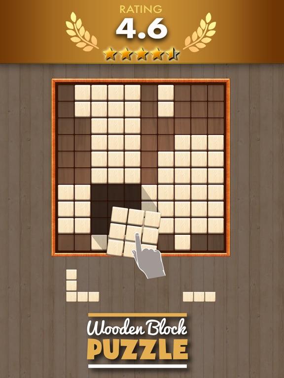 Wooden Block Puzzle Game на iPad