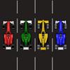 4 Car swap race - Brain Twister