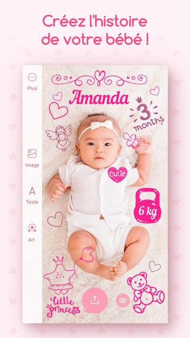 download Souvenirs de bambins - Éditeur photo de votre bébé apps 3