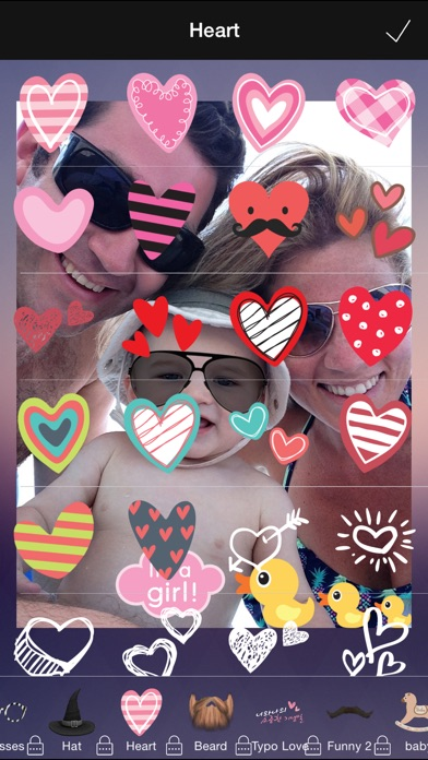 Wefie Stickers-Decorate your family, friendship Screenshot
