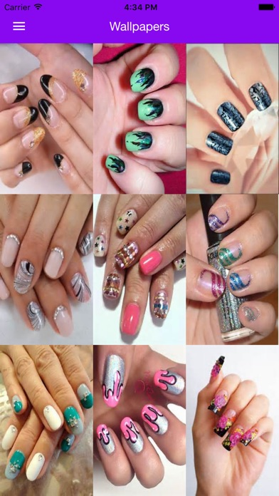 Nail art manicure booth beauty salon nail designs on the app store iphone screenshot 1 prinsesfo Image collections