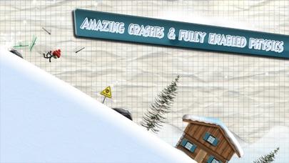 Screenshot #9 for Stickman Ski Racer