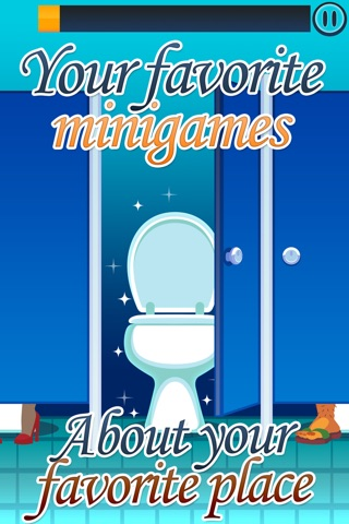 Toilet Time - Mini Games screenshot 1