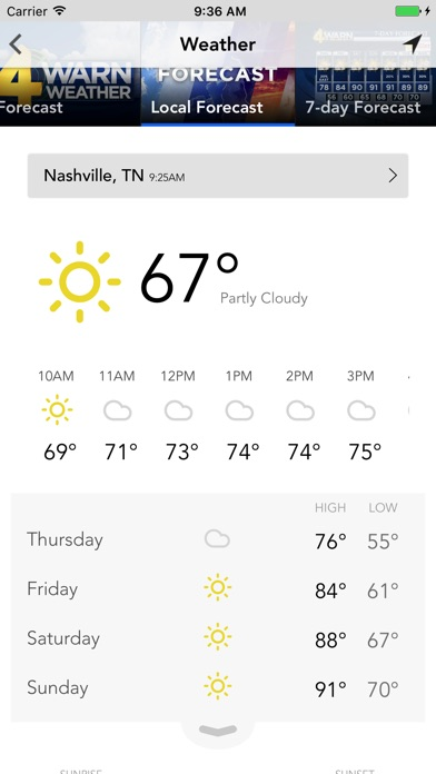 Wsmv Weather App For Iphone