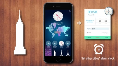 download World Clock HD for Time Zones apps 4