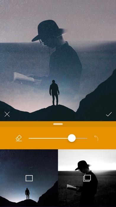 Photo Blender 2 - Double Exposure & Superimpose Screenshot