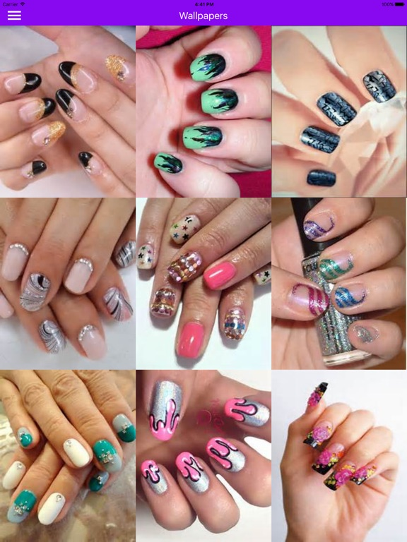 Nail art manicure booth beauty salon nail designs on the app store ipad screenshot 1 prinsesfo Image collections
